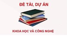 Danh mục đề tài cấp Trường năm 2012