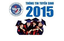 Thông báo về việc xét tuyển vào đại học chính quy năm 2015 (nguyện vọng I)