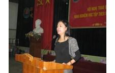 Liên chi Đoàn khoa Địa lý tổ chức thành công Hội nghị học tốt năm học 2009 - 2010