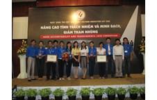 Liên chi đoàn Khoa Nông Lâm Ngư tham dự Ngày sáng tạo Việt Nam 2009 đoạt giải thưởng