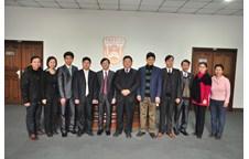 Trường Đại học Vinh làm việc với Trường Đại học Nông nghiệp Trung Quốc
