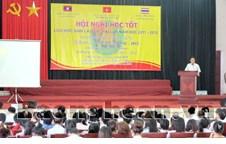 Hội nghị học tốt lưu học sinh Lào và Thái Lan năm học 2011 - 2012