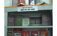Nhà xuất bản Đại học Vinh tham gia triển lãm sách tại Hội chợ Sách quốc tế - Việt Nam lần thứ IV