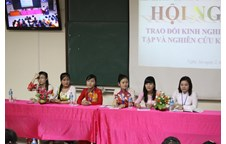 Liên chi đoàn, Liên chi hội Khoa Sinh học tổ chức thành công Hội nghị trao đổi kinh nghiệm học tập và nghiên cứu khoa học năm 2013