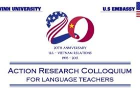Trường Đại học Vinh phối hợp với Đại sứ quán Hoa Kỳ tại Việt Nam tổ chức chuỗi hội thảo, tập huấn về Phương pháp nghiên cứu thực tiễn giảng dạy tiếng Anh
