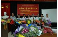 Nghiên cứu sinh Nguyễn Thanh Mỹ bảo vệ thành công luận án tiến sĩ khoa học giáo dục tại Trường Đại học Sư phạm Hà Nội