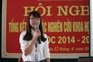 Khoa Sinh học tổ chức thành công Hội nghị SV NCKH cấp Khoa