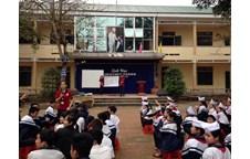 CLE Khoa Luật, Đại học Vinh với buổi tuyên truyền pháp luật tại trường THCS Hưng Chính