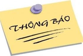 Thông tri triệu tập các hội nghị để thực hiện quy trình giới thiệu nhân sự tham gia Ban Chấp hành Đảng bộ tỉnh khoá XVIII, nhiệm kỳ 2015 - 2020.