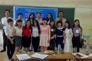 Sinh viên Khoa Địa lý- QLTN rộn ràng trong không khí của tháng Thanh niên