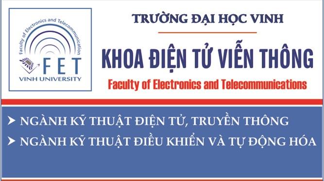 Thông tin chung về khoa Điện tử Viễn thông, Trường Đại học Vinh