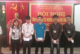 Báo cáo tổng kết công tác sinh viên NCKH năm học 2014-2015 và định hướng hoạt động năm học 2015 - 2016 khoa Điện tử Viễn thông