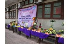 Tưng bừng Hội thi Cắm hoa nghệ thuật khoa Giáo dục chào mừng 20 năm thành lập khoa