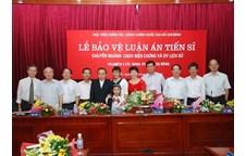 Nghiên cứu sinh Phạm Thị Bình bảo vệ thành công luận án Tiến sỹ Triết học