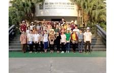 Chuyến học tập thực tế ý nghĩa, bổ ích của sinh viên 54B ngành Quản lý văn hóa