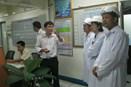 Kiểm tra tiến độ thực tập mặn của sinh viên ngành Nuôi trồng thủy sản khóa 52