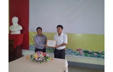 Sinh viên lớp 52E Khuyến nông Quế Phong về thăm khoa Nông Lâm Ngư và triển khai kế hoạch thực tập cuối khóa