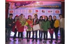 """Lễ trao giải """"Sáng tạo Khoa học và Công nghệ Nghệ An 2013"""": Công trình của cán bộ khoa Nông Lâm Ngư được trao giải Nhì"""