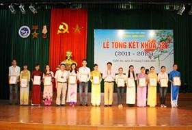 Lễ Tổng kết khóa 52 Sư phạm Sinh học, Cử nhân Sinh học và Cử nhân Khoa học môi trường, niên khóa 2011 - 2015