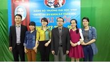 Đại hội Chi bộ Học viên – Sinh viên khoa Sư phạm Toán học, Nhiệm kỳ 2015-2018