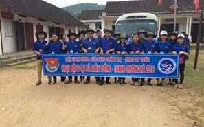 Sinh viên tình nguyện khoa SP Toán học - 2016