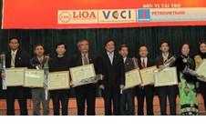 Lễ trao Giải thưởng Sinh viên nghiên cứu khoa học lần thứ 20