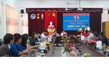 Đại hội Đảng bộ bộ phận khoa Vật lý và Công nghệ, Nhiệm kỳ 2015-2020