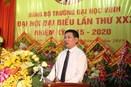 Phát biểu chỉ đạo của đồng chí Hồ Đức Phớc, Bí thư Tỉnh ủy Nghệ An, tại Đại hội Đảng bộ Trường lần thứ XXXI