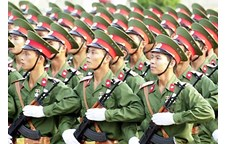 Tuyên truyền kỷ niệm 70 năm Ngày thành lập Quân đội nhân dân Việt Nam và 25 năm Ngày hội Quốc phòng toàn dân