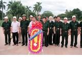 Hội Cựu chiến binh Trường tổ chức hành trình về nguồn nhân kỷ niệm 68 năm Ngày Thương binh, liệt sĩ