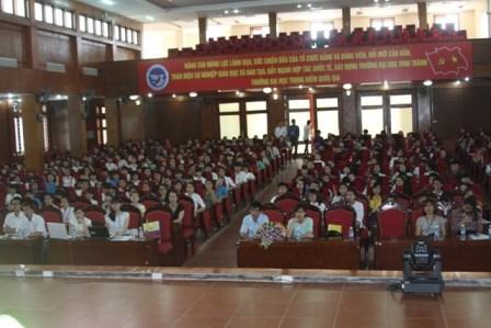 Thông báo nội dung hội nghị Ban Thường vụ Đảng ủy Trường phiên tháng 6/2015