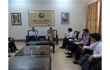 Trường Đại học Vinh làm việc với Đoàn công tác của Sở GD&TT tỉnh Xiêng Khoảng – Lào