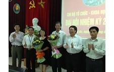 Chi bộ Tổ chức - Khoa học - Đối ngoại tổ chức thành công Đại hội chi bộ, nhiệm kỳ 2013 - 2015