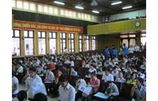 Thông báo Về việc bố trí ở nội trú cho học viên, sinh viên và thí sinh trong kỳ thi THPT quốc gia năm 2015 – 2016 tại Cụm thi Vinh