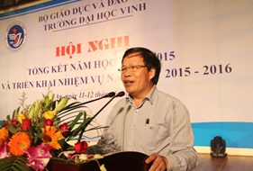 Hội nghị tổng kết năm học 2014 - 2015 và triển khai nhiệm vụ năm học 2015 - 2016