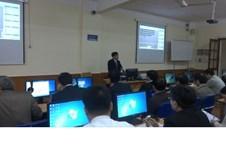 Tổ chức tập huấn thử nghiệm phần mềm quản lý thi tốt nghiệp Trung học phổ thông (THPT) Quốc gia năm 2015 tại Trường Đại học Vinh