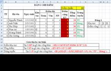 Giải bài tập - Tin học NN - Excel cơ bản - Bài 12