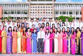 Chùm ảnh về cán bộ Trung tâm THTN nhân dịp kỷ niệm 55 năm thành lập trường